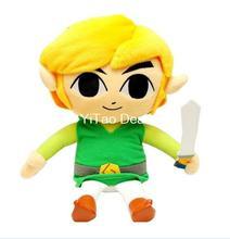 Free shipping Legend of Zelda Stuffed Toy: Link Plush - 7.5 plush toy