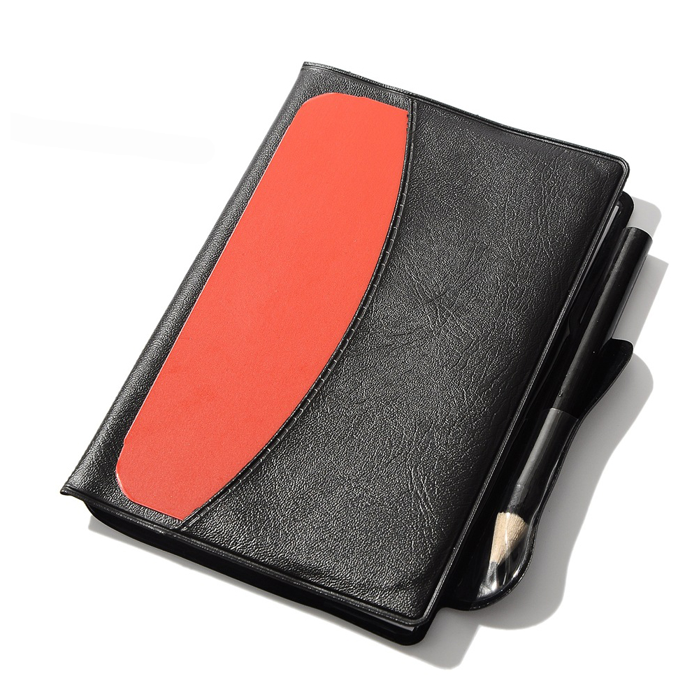 High quality Soccer Referee Red Yellow Card Pencil Sports Notebook Personalized Sport Match Soccer Sheet free shipping ...