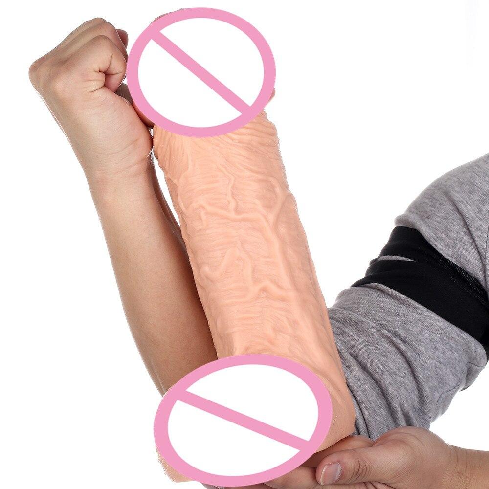 Thick anal dildo