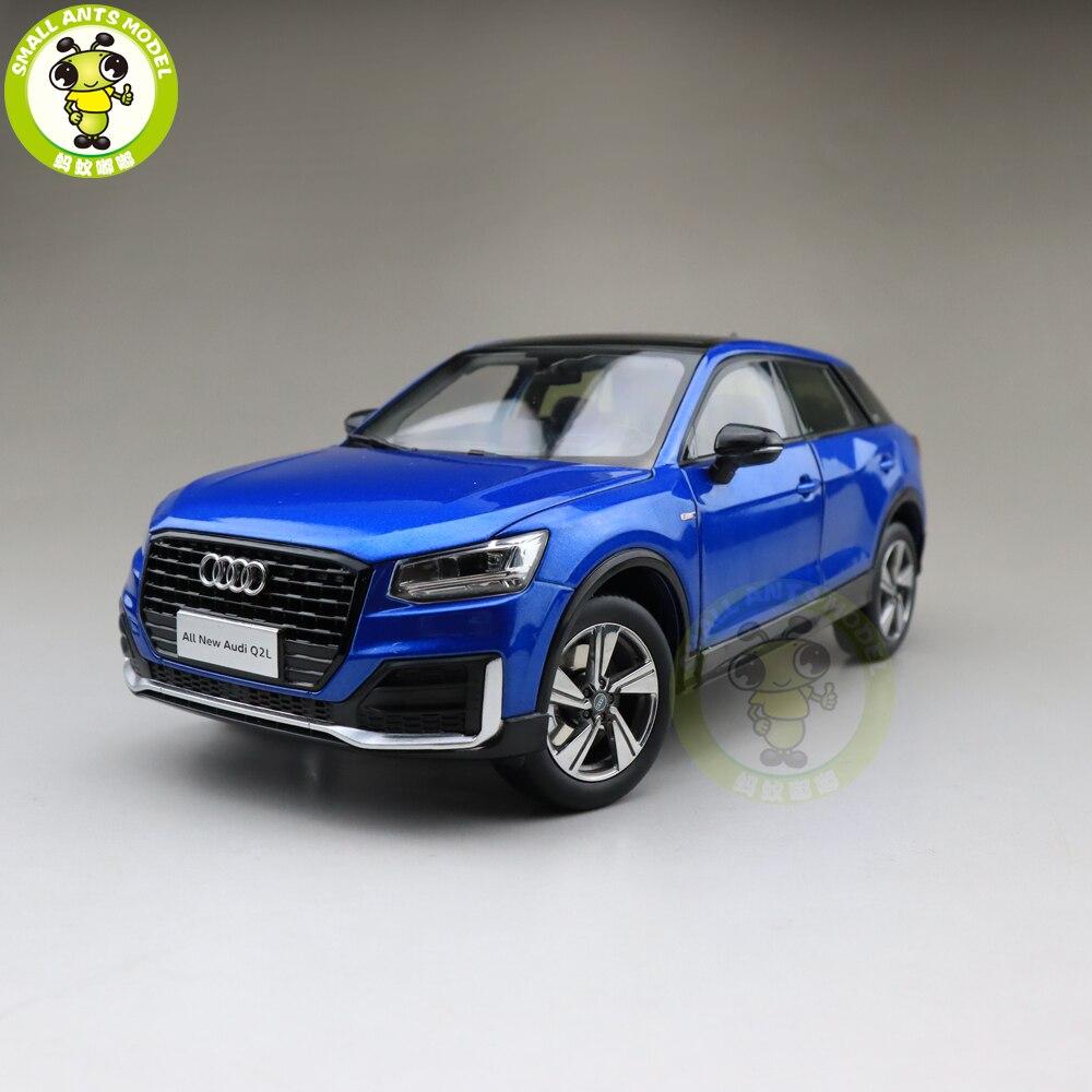 1/18 wszystkie nowe Audi Q2 Q2L SUV metalowy samochodzik ze stopu modelu SUV zabawki dla dziewczyny dzieci chłopiec prezent kolekcja niebieski w Odlewane i zabawkowe pojazdy od Zabawki i hobby na  Grupa 1