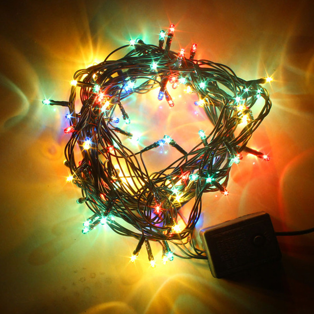 christmas decorations christmas lights chandeliers trees set decoration led seven lights series