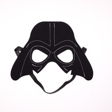 3pcs/set Star Wars Mask Darth Vader Yoda commando Superhero Halloween Costumes Cosplay Mask Kids Birthday Party DIY Christmas