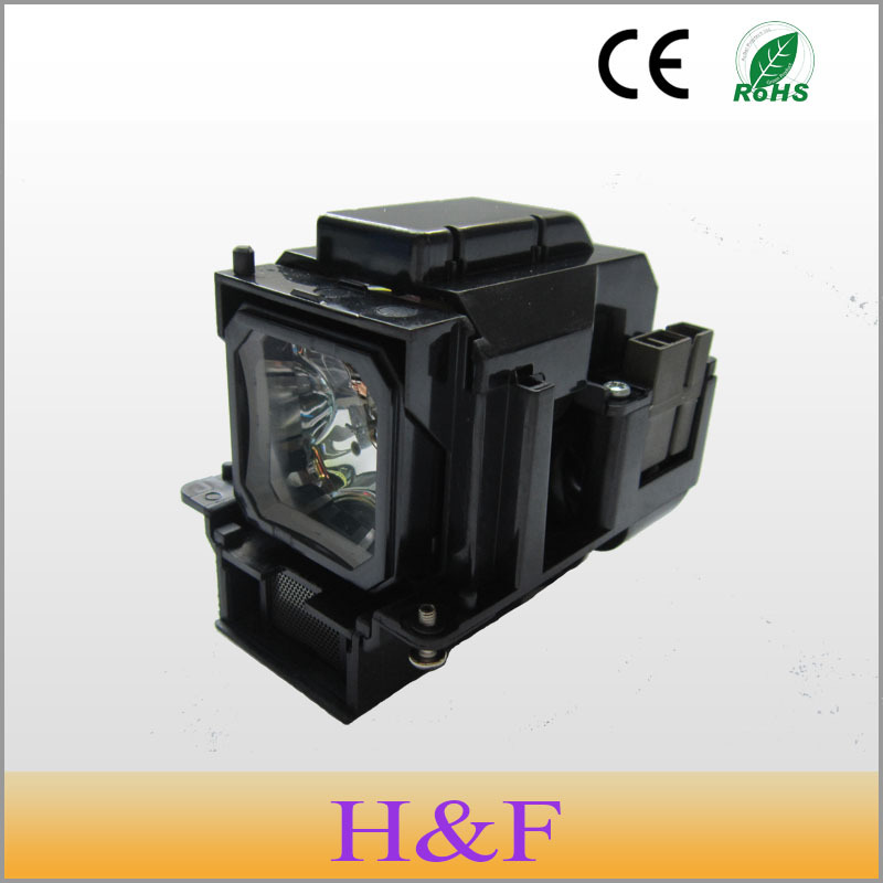 Free Shipping Compatible Projector Lamp With Housing VT75LP For NEC LT280 LT380 VT470 VT670 VT670K VT676 VT676E VT676G Lambasi projector bulb lh01lp lh 01lp for nec ht510 ht410 projector lamp bulbs with housing free shipping