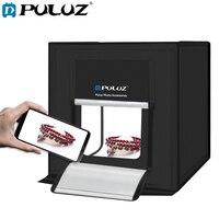 PULUZ 60*60cm UK TYPE LED Photo Studio Softbox Shooting Light Tent Photography Box Photo With 2 LED Panels Studio Accessories