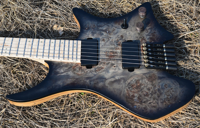 2019 New NK Headless guitar Fanned Fret guitars - free shipping 2