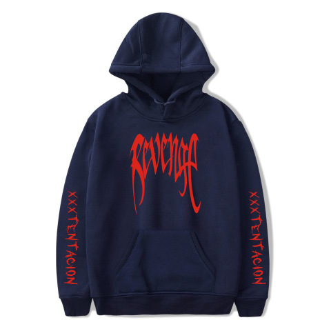 WBDDT Xxxtentacion Hoodies Men Belt Pullover Front Pocket Streetwear Cotton Sweatshirt Hip Hop Outerwear Drop Shipping Lahore
