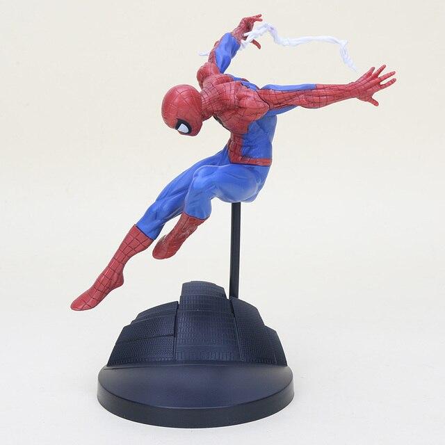 18 cm Série Herói Spiderman Figura Criador de The Amazing Spider Man PVC Action Figure Collectible Modelo Toy