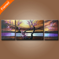 Handpainted Landscape Oil Painting 3 Panels Canvas Art For Modern Living Room Decoration High Quality Art