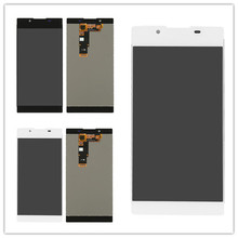 JIEYER black or white or pink For Sony Xperia L1 G3312 G3311 LCD Display + Touch Screen Digitizer Assembly 4 6 white or black for sony xperia z3 mini compact d5803 d5833 lcd display touch digitizer screen assembly sticker