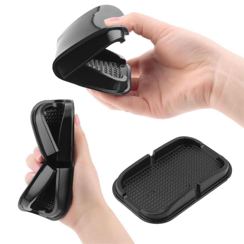 عالمي متعدد الوظائف سيارة مكافحة زلة وسادة مطاطية المحمول لزجة عصا لوحة القيادة الهاتف الجرف مكافحة زلة حصيرة ل MP3 GPS