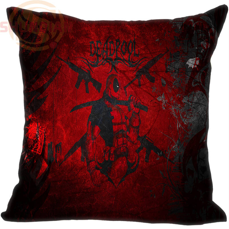 Hot Sale Custom Deadpool marvel comics #4 Pillowcase 35X35cm (One Sides)Home Cushion Cover Pillow Cases 9-22T
