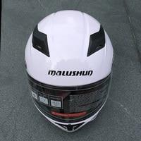 Motorcycle Helmet Double Visors Full Face Moto Helmets Cool Men Riding Casco Racing Motorbike Filp Up