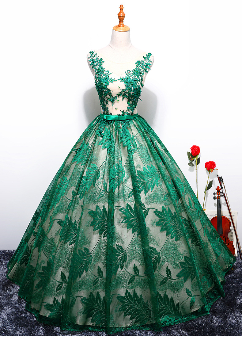 Princess Quinceanera Dresses Tulle With Lace Ball Gown Girls Masquerade Sweet 16 Dresses Ball Gowns Vestidos De 15 Anos