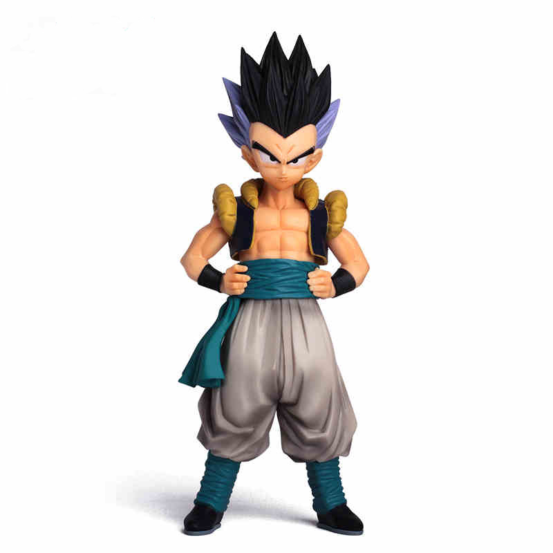 19cm Anime Dragon Ball Z Super Saiyan Gotenks Action Figur Master Stars Piece Dragonball Figur Collectible Model Leksaker
