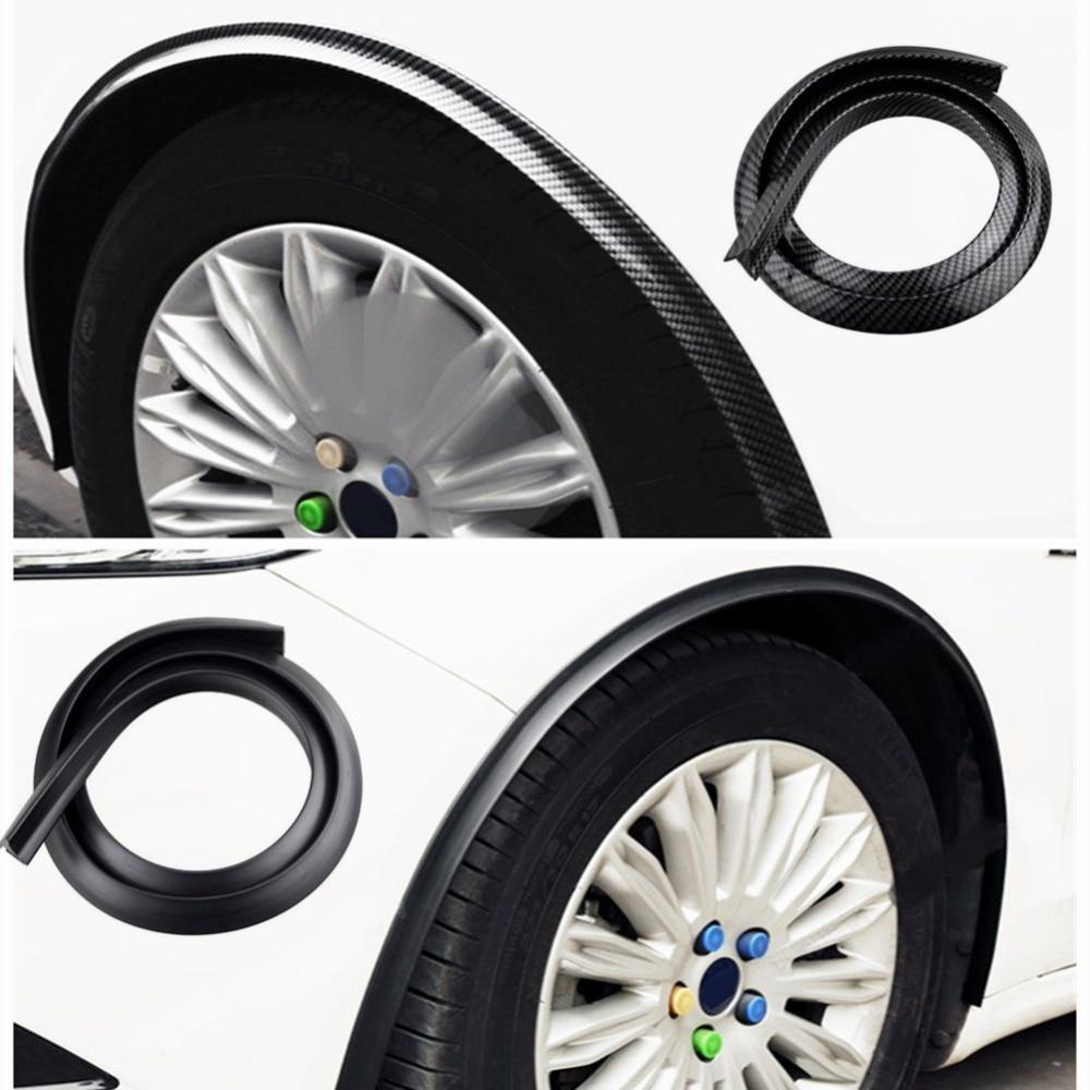 Universal Car Fender Protector Strips Auto Wheel Tire Edge Eyebrow Stickers Car Anti collision Decoration Strips Car Stickers