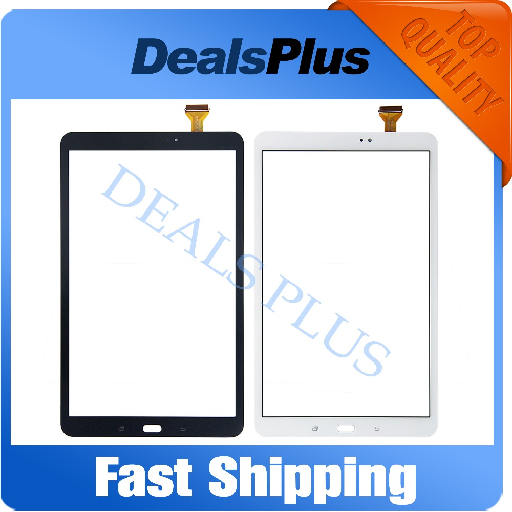 Replacement New Touch Screen Digitizer Glass For Samsung Galaxy Tab A 10.1 SM-T580 T580 White Black Free Shipping free tools replacement for samsung galaxy tab s 10 5 sm t800 touch screen digitizer replacement white track code
