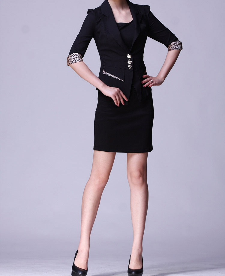 Office lady the new business attire ladies suits female fashion overalls  formal dress e87da2d50