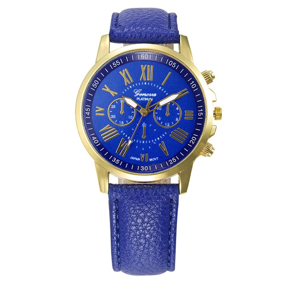OTOKY 2018 Fashion Unisex Women Man Band Analog Quartz Business Wrist Watch Geneva Simple Causal Roman Numerals Watches JANN01