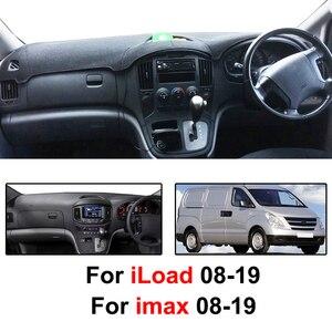 Image 2 - Için Hyundai iLoad iMax H300 i800 H1 H 1 seyahat kargo Grand Starex Royale 2008   2019 Dashmat Dashboard kapak Dash mat Dash kapak