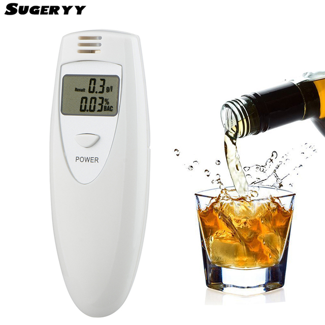 Sugeryy Safe Driving Alcohol Breath Tester Whiteyzer Pocket Digital Alcohol Breathalyzer Detector Test With Lcd Displayer