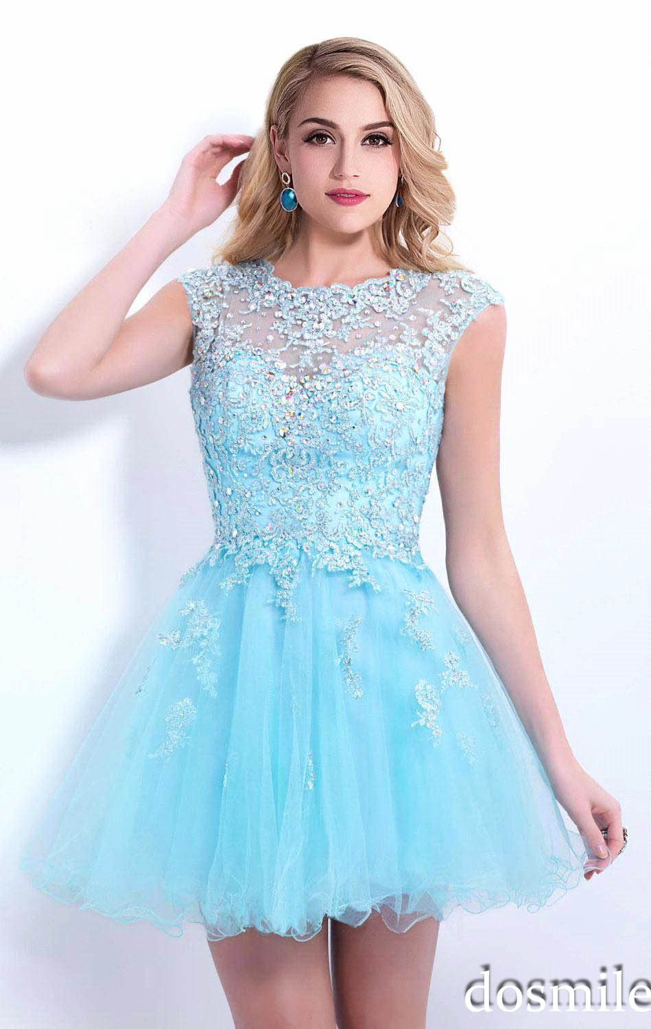 Compare Prices on Blue Semi Formal Dresses- Online Shopping/Buy ...