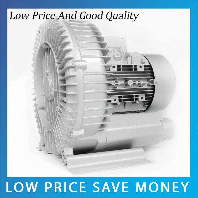 HG-250 60m3/H High Pressure Centrifugal Blower 250W Aluminum Side Channel Blower цена