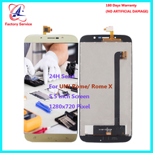 For Original UMI Rome  ROME X LCD Screen Display+Touch Screen Digitizer Sensor Assembly Replacement 5.5 1280x720P in stock