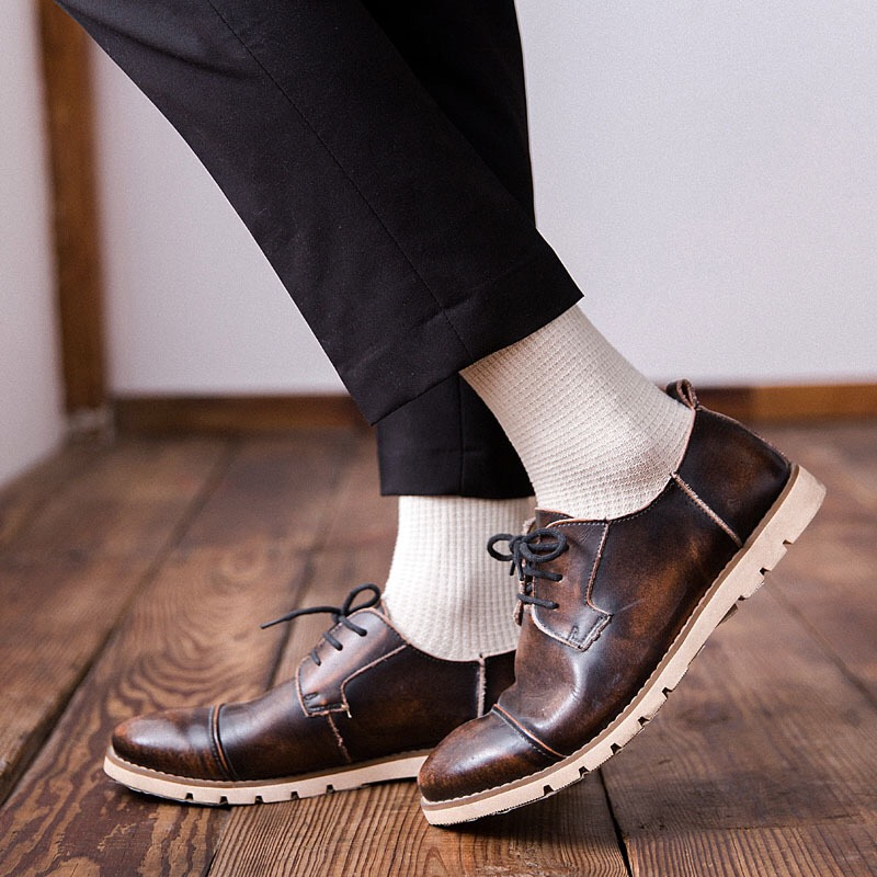 men sock Harajuku Standard Classic  Socks New Socks Business Casual Cotton gifts for socks men 4