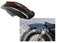 Black Rear Fender for Harley Sportster XL Solo Cafe Racer Bobber Chopper XLH1200 883 Custom 1200 Sport Hugger