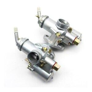 Image 5 - 100% מקורי CJ K750 דגם 1 pairs שמאל וימין קרבורטור PZ28 מקרה עבור bmw R1 M72 אוראל
