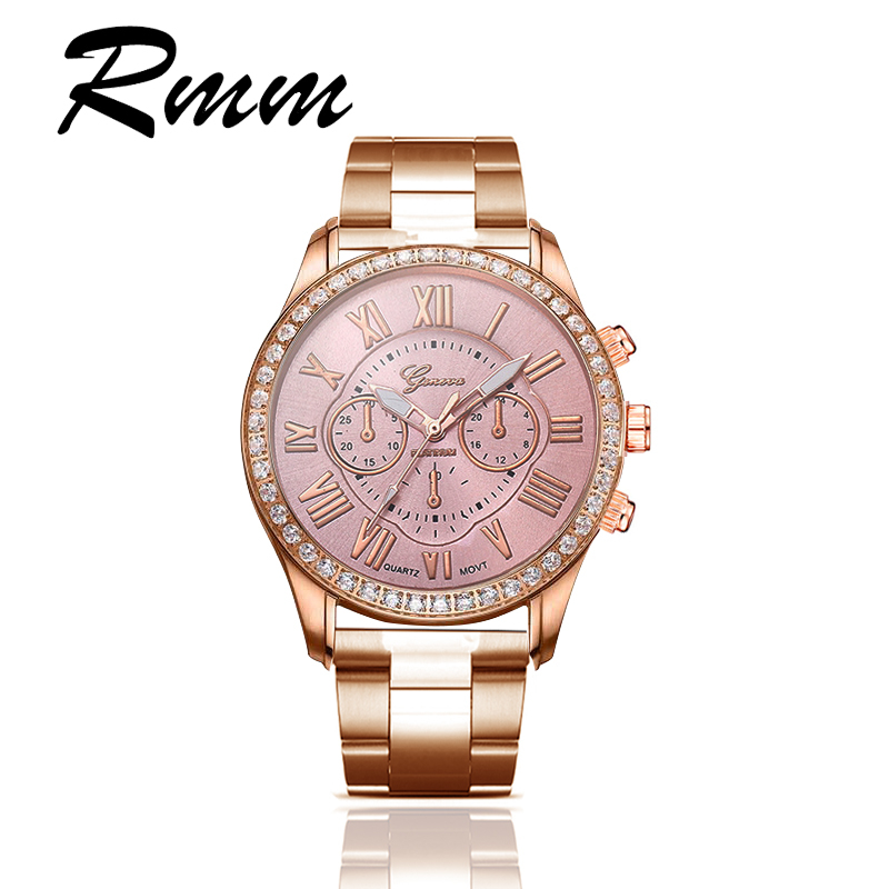 2018 New Casual Business Mens and Womens Watches Multi Color Selection Luxury Gold Dial Alloy Strap Couple Watch Quartz Watch
