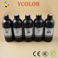 Hot sale! 500ml UV LED ink for Epson R1800 R1900 R2000 R3000 UV LED ink for glass/ metal/ wood, B/C/M/Y/White/LC/LM/LK/LLK