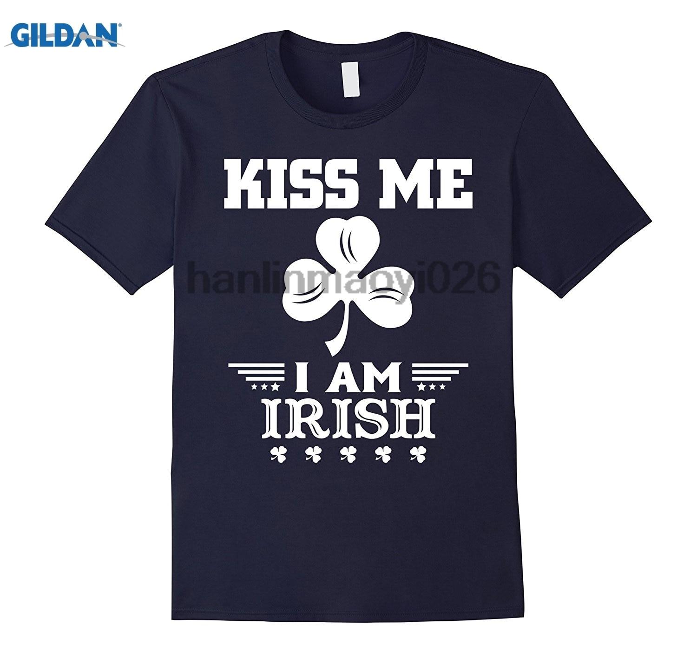 Возьмите Kiss Me IM ирландский рубашка ST День Святого Патрика футболка