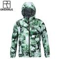 2016 Spring And Autumn Men's Windbreaker Casual Zipper Men Hooded Jacket Thin Sportswear Waterproof 3D Printed Coat M372