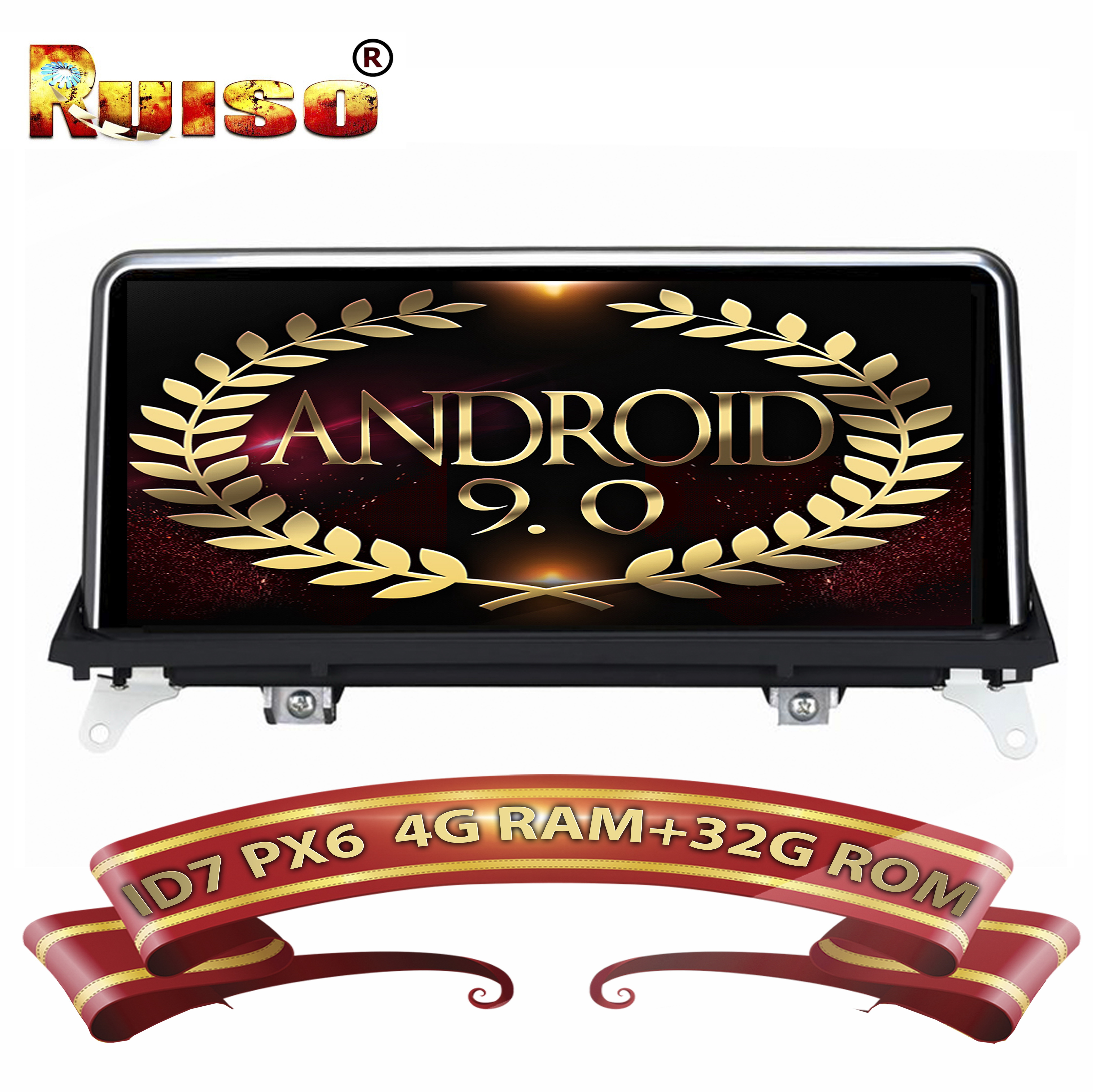 ID7 Android 9 0 FOR BMW X5 E70 For BMW X6 E71 Original CCC System CIC