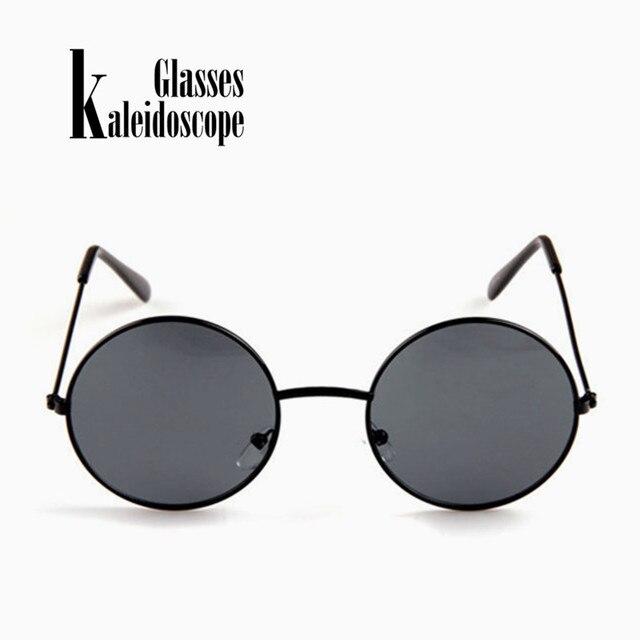 c3baeef8320d Калейдоскоп очки Для женщин Для мужчин солнцезащитные очки круглый  металлический каркас Брендовая Дизайнерская обувь зеркальные Eyewears