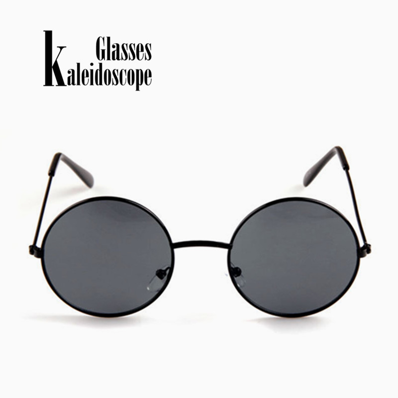 fbcabdb2f2 Kaleidoscope Glasses Women Men Sunglasses Round Metal Frame Brand Designer  Mirrored Eyewears Retro Females Male Sun Glasses