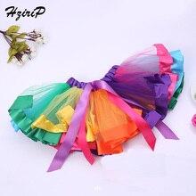 Hzirip/новые юбки Детская одежда г., новые весенне-летние вечерние юбки в стиле пэчворк для девочек модная юбка принцессы с помпоном милая детская юбка