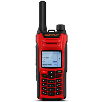 WAKYTAKY Long Range Walkie talkie 10 km 8W Power Five Band Handheld Two Way Ham Radio HF Transceiver Amateur With Color Screen