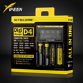 Brand Nitecore D4 Digicharger LCD Intelligent Circuitry Global Insurance li-ion 18650 14500 16340 26650 Battery Charger