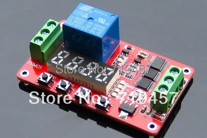 FREE SHIPPING 2PCS/LOT FRM01 Multi-function Relay Module Cyclic Delay / Switch / Self-locking 5, 12, 24, V Is Optional