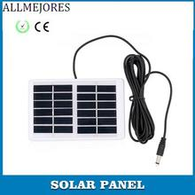 ALLMEJORES Solar panel 6V 1.2W chargeing for Emergency Light Polycrystalline soalr cell panel charger ROSH CE Certificate