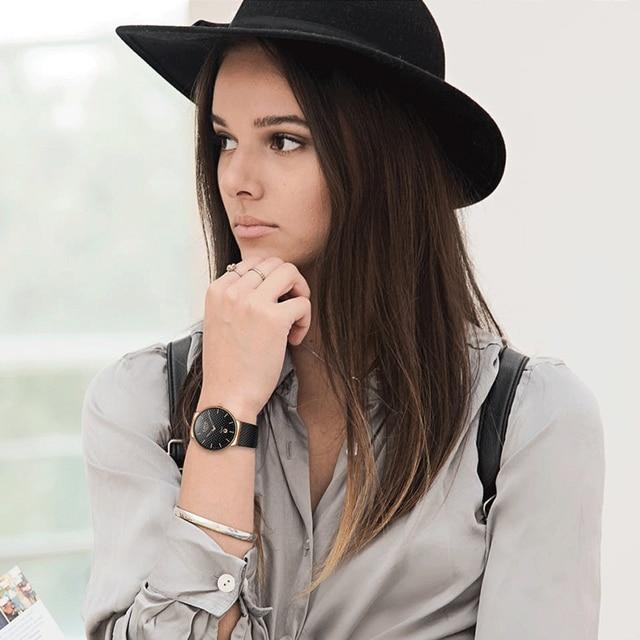 LIGE Fashion Luxury Brand Women Quartz Watch 4