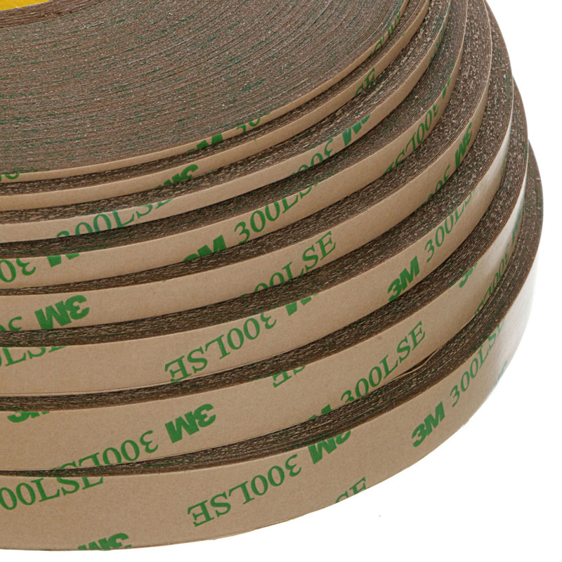 E74 Nice 1PC for sale Furniture Accessories Heavy Duty Adhesive Type 3M 300LSE double-sided Tape Super Sticky 2mm-12mm width 10m super strong waterproof self adhesive double sided foam tape for car trim scotch