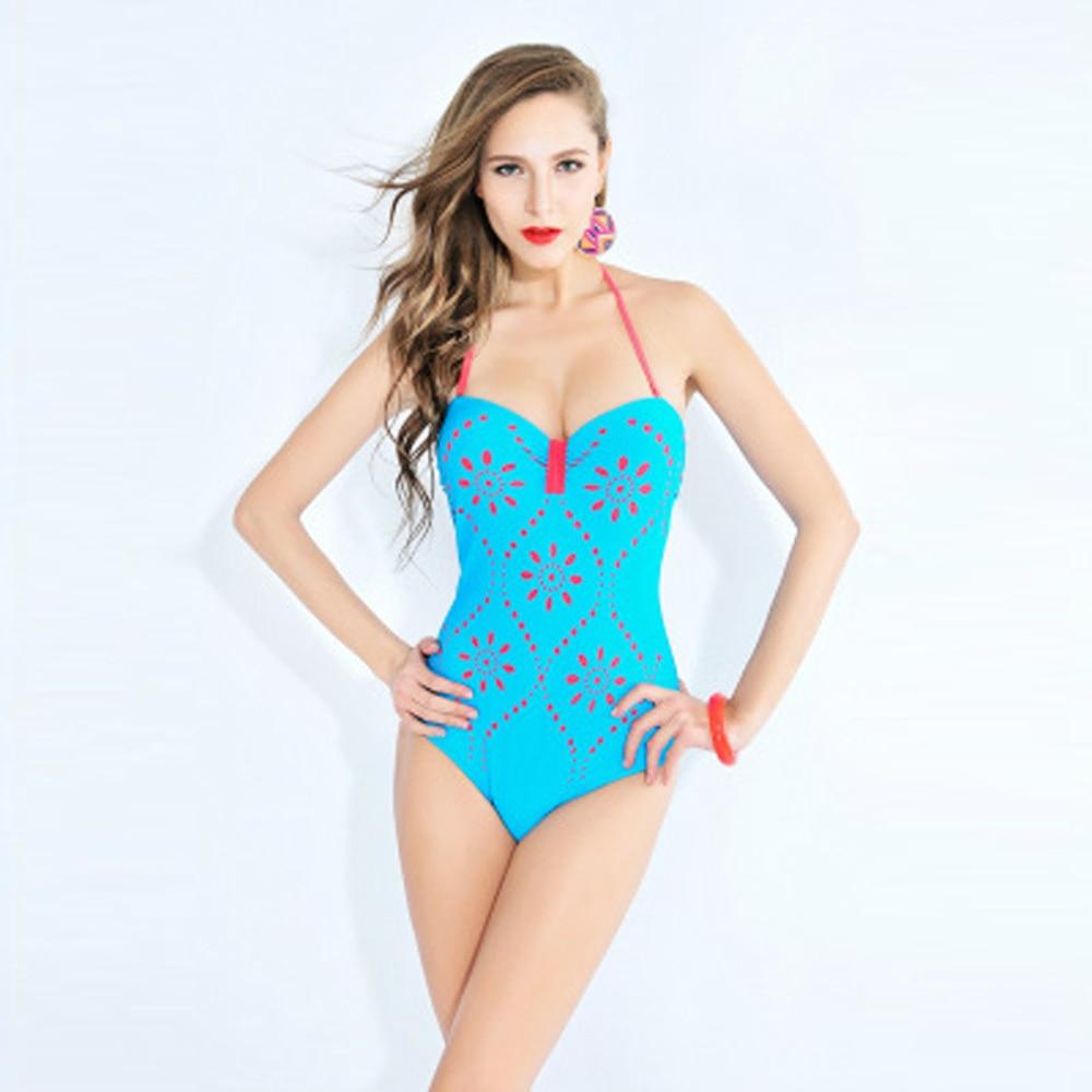De una Pieza del traje de Baño Mujeres Trajes de Baño ropa de Playa Verano de La