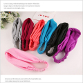korean women girls scrunchy shower turban headband elastic headwear hair head bands wraps accessories for women headbands tiara