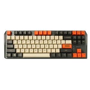 Image 2 - YMDK Carbon 61 87 104 Top Afdrukken Leeg Keyset Dikke PBT OEM Profiel Keycaps Geschikt Voor MX Mechanische Toetsenbord