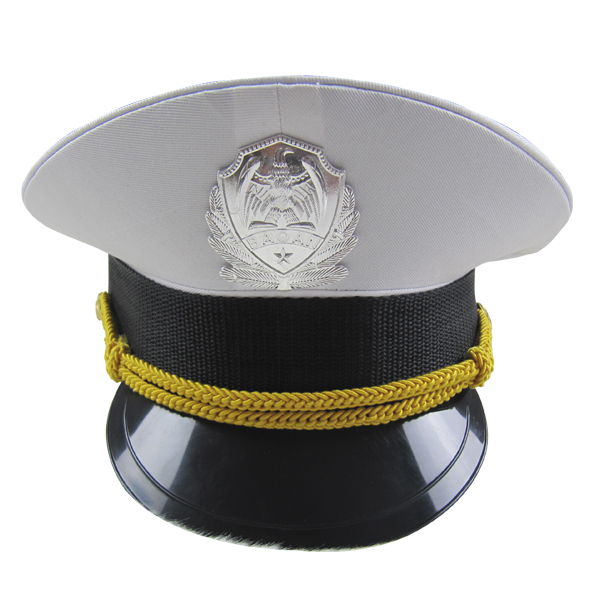 cospaly maid White police cap octagonal cap ds costume party ds188m