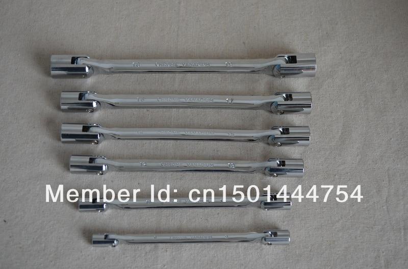 New 6PCS set Double End Swivel Socket Wrench tools Activity sockets set tools manufacturer 8 9