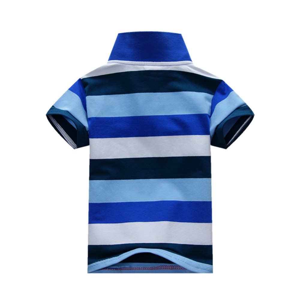 Baby-Boys-Kid-Tops-T-Shirt-Summer-Short-Sleeve-T-Shirt-Striped-Polo-Shirt-Tops-4